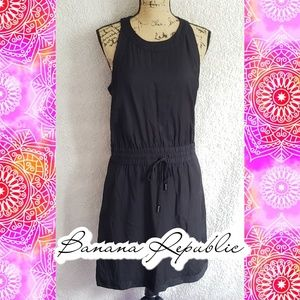 Banana Republic sz 12 dress drawstring